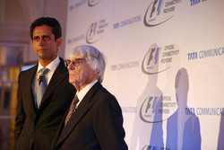 Vinod Kumar, MD & CEO, Tata Communications and Bernie Ecclestone