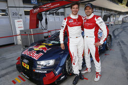 Mattias Ekström, Audi Sport Team Abt Sportsline, Audi A5 DTM and Felix Neureuther