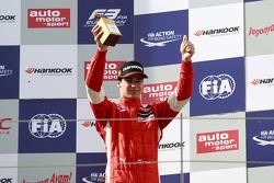 Third place Lance Stroll, Prema Powerteam Dallara Mercedes-Benz
