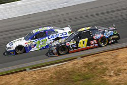 Casey Mears, Germain Racing Chevrolet and A.J. Allmendinger, JTG Daugherty Racing Chevrolet