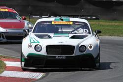 #20 Team Bentley Dyson Racing Bentley Continental GT3: Butch Leitzinger