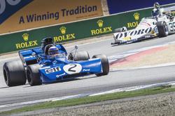 John Delane, 1971 Tyrrell 002 and Tommy Dreelan , 1976 March 761