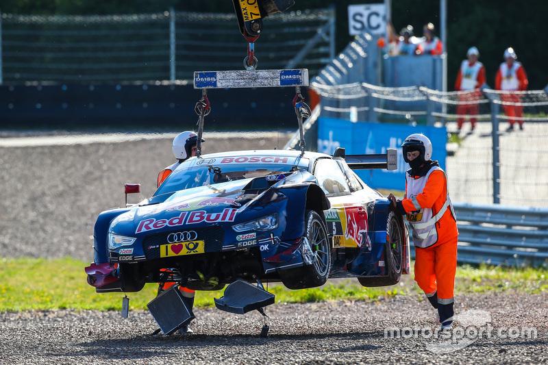 Das Auto von Mattias Ekström, Audi Sport Team Abt Sportsline, Audi A5 DTM