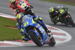 Aleix Espargaro, Team Suzuki MotoGP and Pol Espargaro, Tech 3 Yamaha and Andrea Iannone, Ducati Team