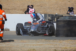 James Jakes, Schmidt Peterson Motorsports crash