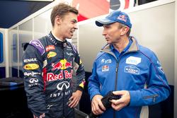 Daniil Kyvat, Red Bull Racing and Vladimir Chagin