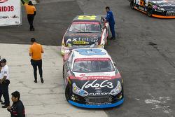 #23 Santiago Tovar, Escudería Telmex y #20 Homero Ricards, M Racing