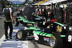 Alex Fontana, Status Grand Prix and Sandy Stuvik, Status Grand Prix
