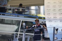 Race 2 winner Mitch Evans, RUSSIAN TIME