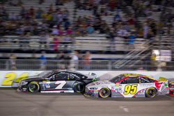 Alex Bowman, Tommy Baldwin Racing Chevrolet and Michael McDowell