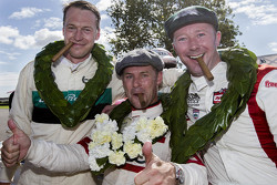 St Mary's Trophy Winners: Tom Kristensen, second place Frank Stippler and third place Gordon Shedden
