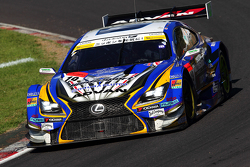 WedsSport车队19号Lexus RC F: Juichi Wakisaka, Yuhi Sekiguchi