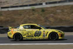 #69 SpeedSource Mazda RX-8: Jose Armengol, Dan Allen