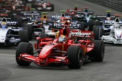 Start: Felipe Massa, Scuderia Ferrari, F2007