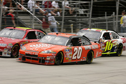Tony Stewart and Elliott Sadler
