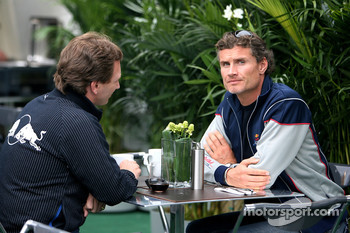 Christian Horner, Red Bull Racing, Sporting Director, David Coulthard, Red Bull Racing