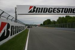 Circuit Gilles-Villeneuve track walk