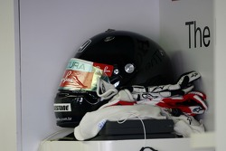 Rubens Barrichello, Honda Racing F1 Team, helmet