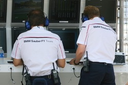 BMW Sauber F1 Team, On the pitwall