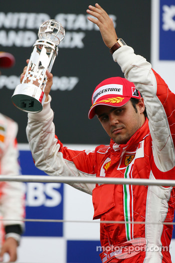 3rd place Felipe Massa, Scuderia Ferrari