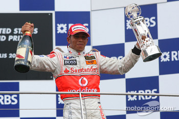 1st place Lewis Hamilton, McLaren Mercedes