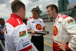 Technical debriefing for Sbastien Bourdais