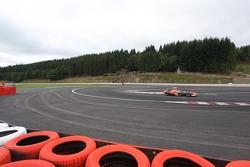 New last chicane, Giedo van der Garde, Test Driver, Spyker F1 Team