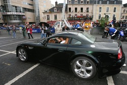 Supercars parade: an Invicta S1