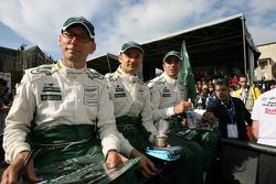 Gregor Fisken, Roland Berville and Patrick Bornhauser