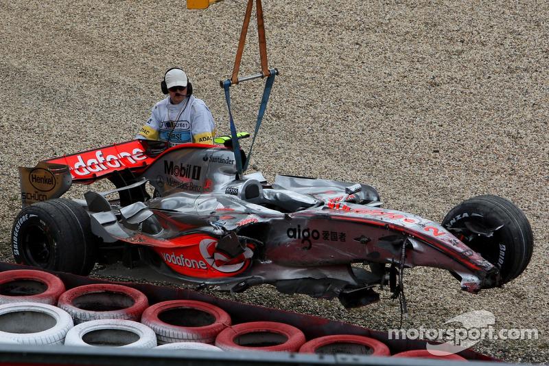 Lewis Hamilton: Grand Prix von Europa 2007 am Nürburgring