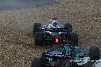 Nico Rosberg, WilliamsF1 Team, FW29, spins off