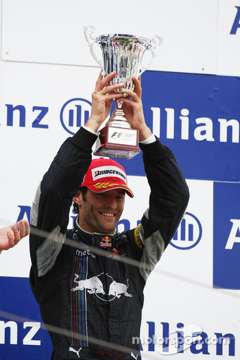 Podium: Mark Webber