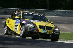 #195 Black Falcon BMW E90: Matthias Unger, Dieter Lehner, Christian Senz, Ventura Bona
