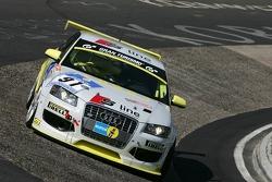 #91 Pirelli Competizioni Audi A3: Thomas Kroher, Thiemo Fleck, Christian Gebhardt, Stefan Küster