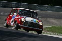 #163 Walter Kaufmann Rover Mini Cooper: Gregor Nick, Hans Söderholm, Walter Kaufmann
