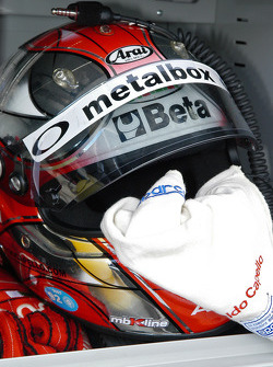 Helmet of Rinaldo Capello