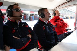 Hans-Jurgen Abt, Teamchef Abt-Audi and Dr. Wolfgang Ullrich, Audi's Head of Sport