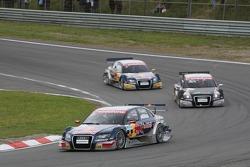 Mattias Ekstrom, Audi Sport Team Abt Sportsline, Audi A4 DTM before Timo Scheider, Audi Sport Team Abt Sportsline, Audi A4 DTM and Martin Tomczyk, Audi Sport Team Abt Sportsline, Audi A4 DTM