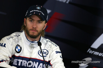 Qualifying press conference: third, Nick Heidfeld