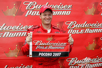 Pole winner Dale Earnhardt Jr.