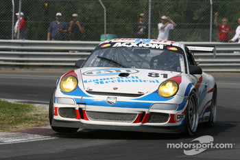 #81 Synergy Racing Porsche GT3 Cup: Steve Johnson, Andrew Davis