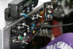 Instrument panel of the #39 Cheever Racing - Pontiac Pontiac Fabcar