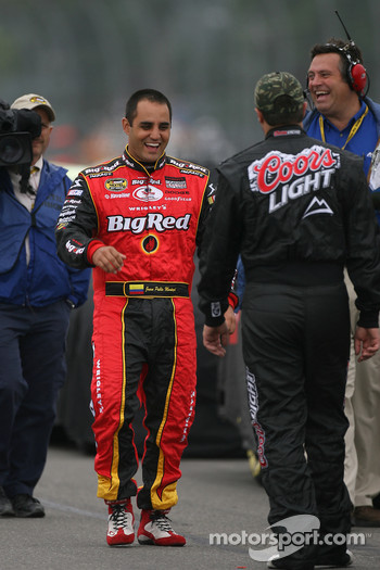 Juan Pablo Montoya and David Stremme