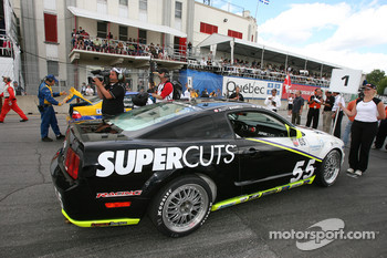 Pole winning car: #55 Hyper Sport Mustang GT: Joe Foster, Scott Maxwell
