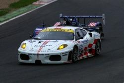 #99 JMB Racing Ferrari F430 GT: Maurizio Basso, Bo McCormick, Peter Kutemann
