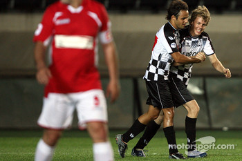 Felipe Massa, Scuderia Ferrari and Sebastian Vettel, Scuderia Toro Rosso,  F1-Team vs All Star Team, Football match, Galatasaray