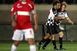 Felipe Massa, Scuderia Ferrari and Sebastian Vettel, Scuderia Toro Rosso,  F1-Team vs All Star Team, Football match, Galatasaray