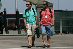 Father of Rubens Barrichello, Honda Racing F1 Team
