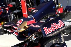 Scuderia Toro Rosso, STR02, front wing