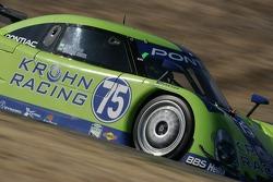 #75 Krohn Racing Pontiac Riley: Nic Jonsson, Ricardo Zonta
